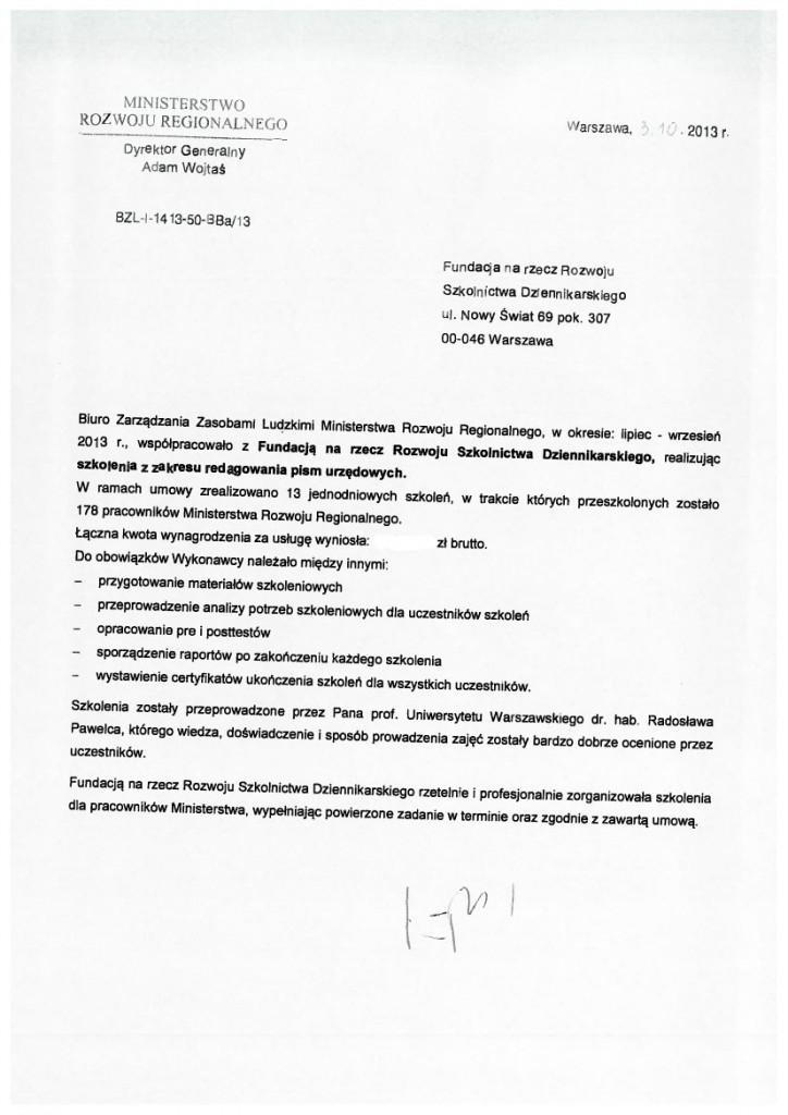 MinisterstwoRozwojuRegionalnego